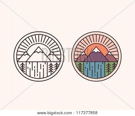 Mountain Line Emblem