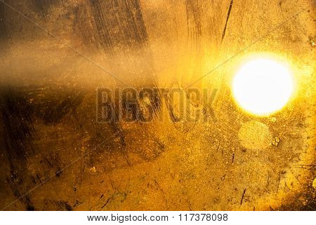 Generic Background abstract of sunlight through dirty glass window.