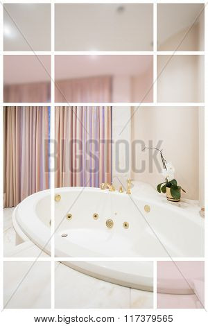 White Ceramic Washbasin