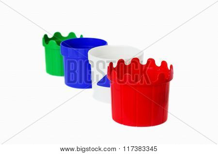 Children Multicolor Plastic Buckets