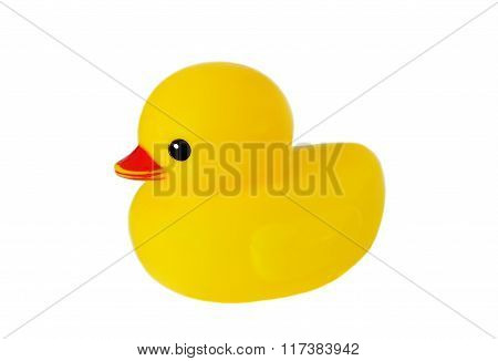 Yellow Plastic Duck