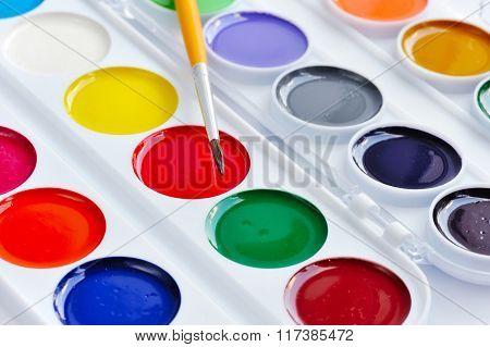 School Watercolors