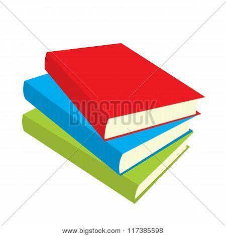 Books flat icons