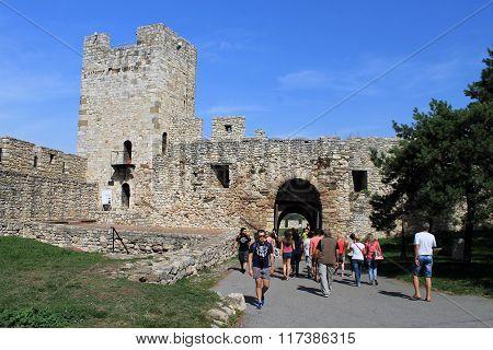 Kalemegdan Fortress In Belgrade.