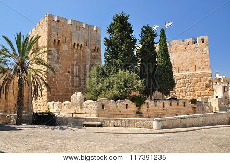 Old Jerusalem city.