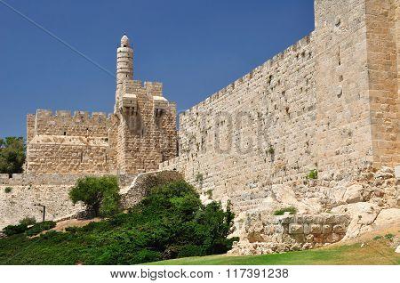 King David citadel.