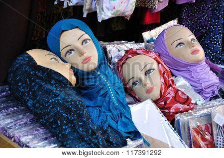 Hijab dolls.