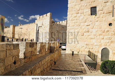 Jaffa gate.