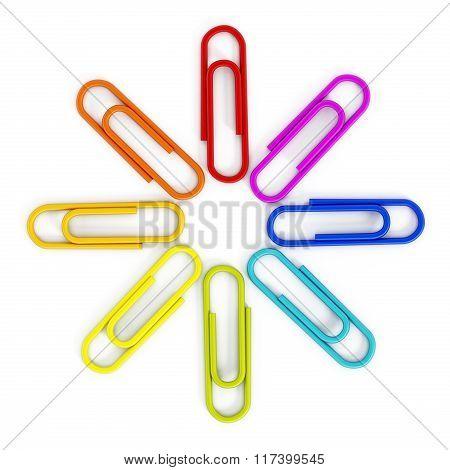 Multi Colored Paper Clips
