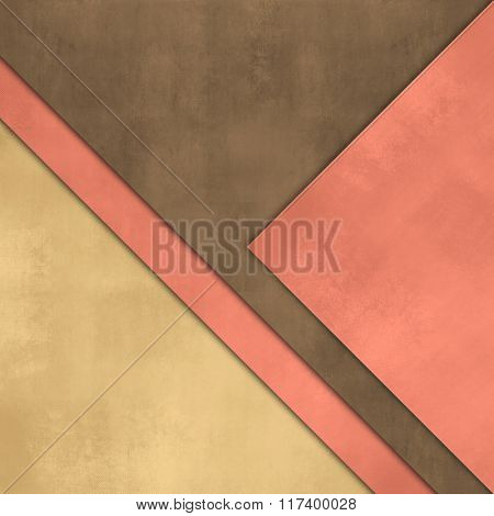Abstract background with overlapping sheets of paper