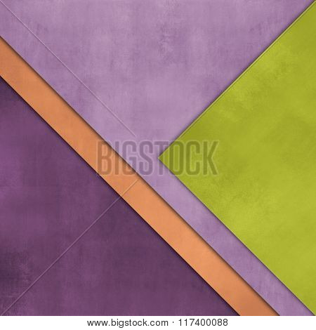 Abstract background with overlapping sheets of paper - colorful template