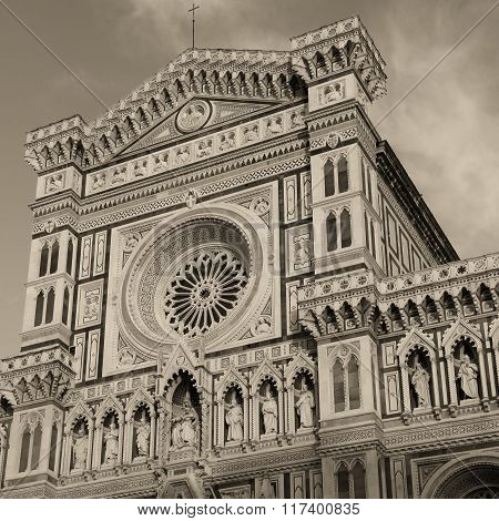 Cathedral Of Santa Maria Del Fiore , Florence, Italy.