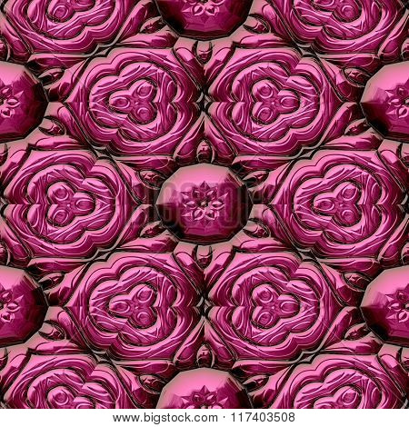 Abstract decorative iron pink texture-pattern