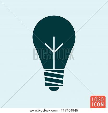 Bulb lamp icon