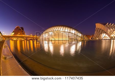 Valencia In The Night