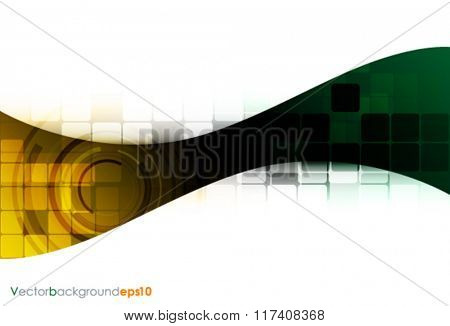 Multicolored vector abstract technology background
