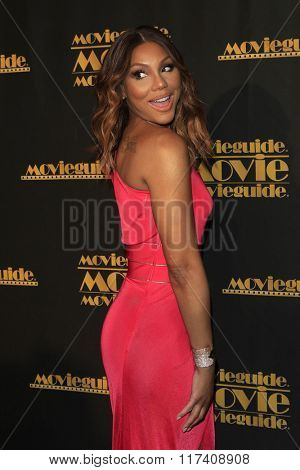 LOS ANGELES - FEB 5: Tamar Braxton at the 24th Annual MovieGuide Awards at Universal Hilton Hotel on February 5, 2016 in Universal City, Los Angeles, California