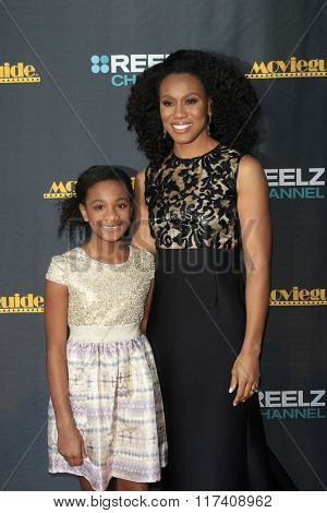 LOS ANGELES - FEB 5: Alena Pitts, Priscilla Shirer at the 24th Annual MovieGuide Awards at Universal Hilton Hotel on February 5, 2016 in Universal City, Los Angeles, California