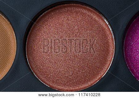 Brown Eye Shadow Close Up