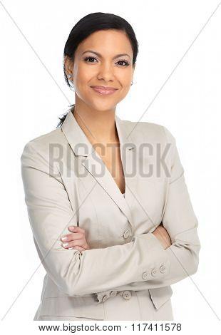 Beautiful asian business woman.