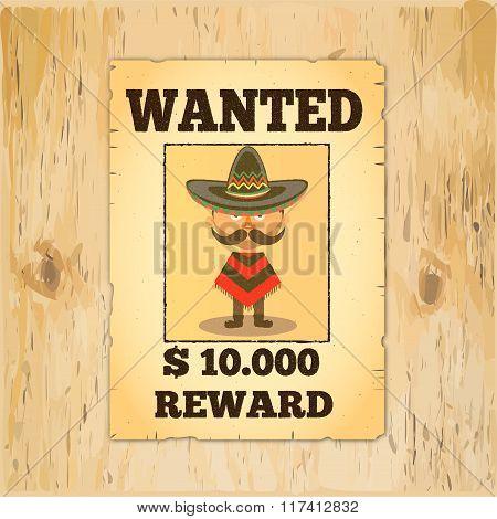 Wanted Reward Poster