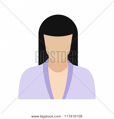 Woman avatar sign