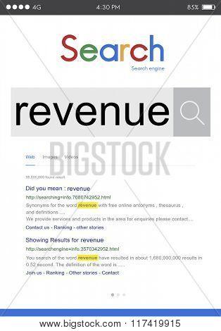 Revenue Cash Flow Content Finance Income Money Concept