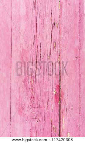 Old Wooden Planks Surface Background.