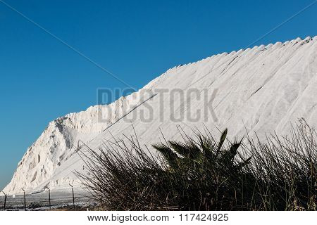Production of Natural Salt Mountain