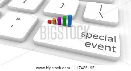 Special Event as a Fast and Easy Website Concept