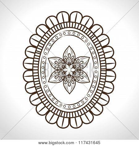 bohemian background design