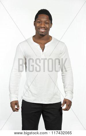 African American Male Model