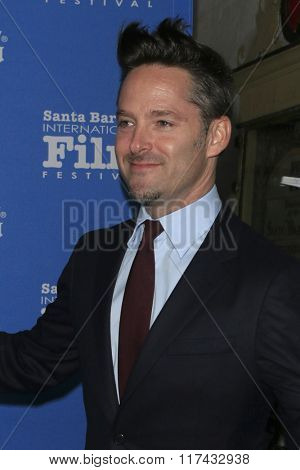 SANTA BARBARA - FEB 4:  Scott Cooper at the 31st Santa Barbara International Film Festival - Maitlin Modern Master Award at the Arlington Theatre on February 4, 2016 in Santa Barbara, CA