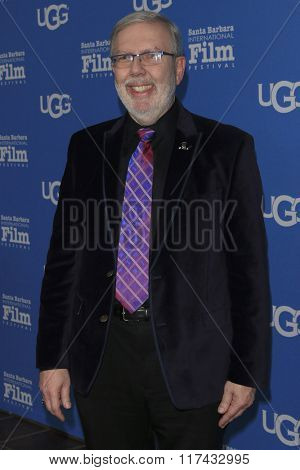 SANTA BARBARA - FEB 4:  Leonard Maltin at the 31st Santa Barbara International Film Festival - Maitlin Modern Master Award at the Arlington Theatre on February 4, 2016 in Santa Barbara, CA