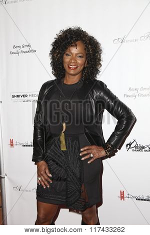 LOS ANGELES - FEB 4:  Vanessa Bell Calloway at the Debbie Allen's Freeze Frame U.S. Premiere at the Wallis Annenberg Center for the Performing Arts on February 4, 2016 in Beverly Hills, CA