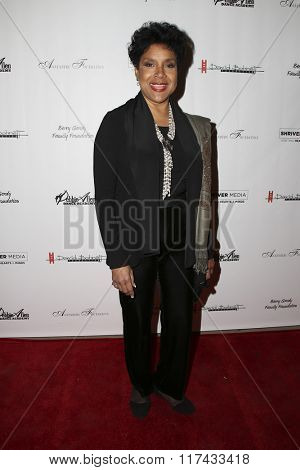 LOS ANGELES - FEB 4:  Phylicia Rashad at the Debbie Allen's Freeze Frame U.S. Premiere at the Wallis Annenberg Center for the Performing Arts on February 4, 2016 in Beverly Hills, CA