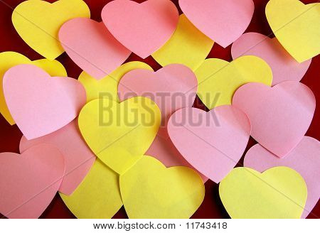 Heart Shaped Post It