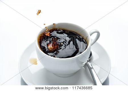 Coffee Splashing