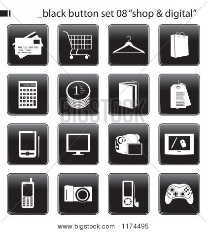 Black Button Set 08