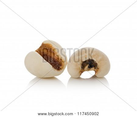 Millet Rice, Millet Grains On White Background