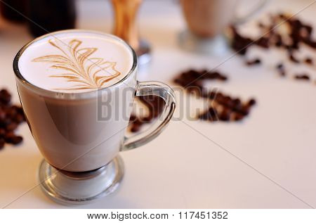 Coffee Palm Latte Art