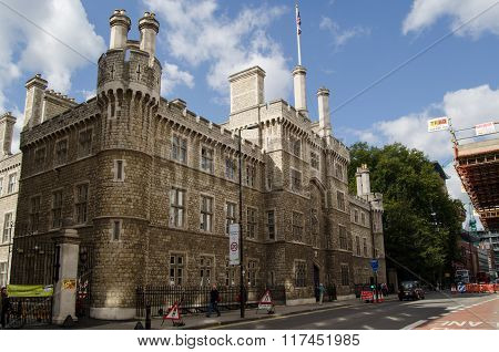 Finsbury Barracks, London