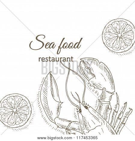 Lobster and lemon