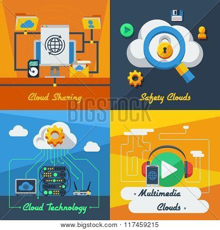 Cloud Service 2x2 Design Concept
