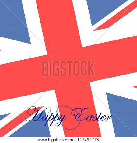 Card Happy Easter For Britain