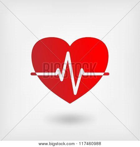 heart cardiogram symbol