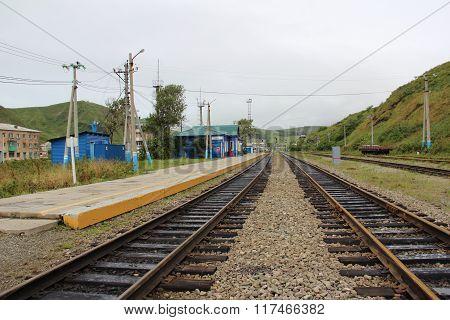 Railway Sakhalin