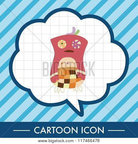 Owl Cartoon Theme Elements Vector,eps