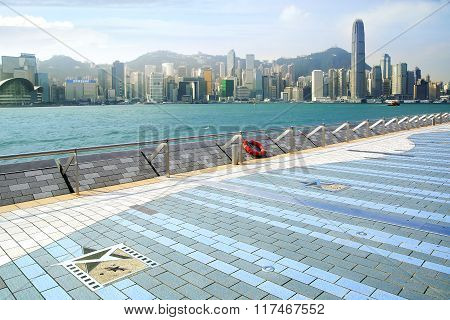 Avenue Of Stars. Hong Kong