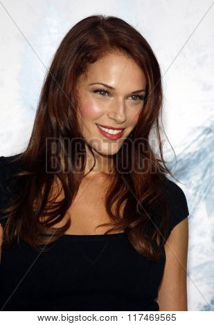 Amanda Righetti at the Los Angeles Premiere of